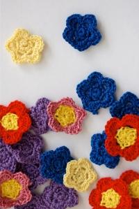 Nora's crochet flowers
