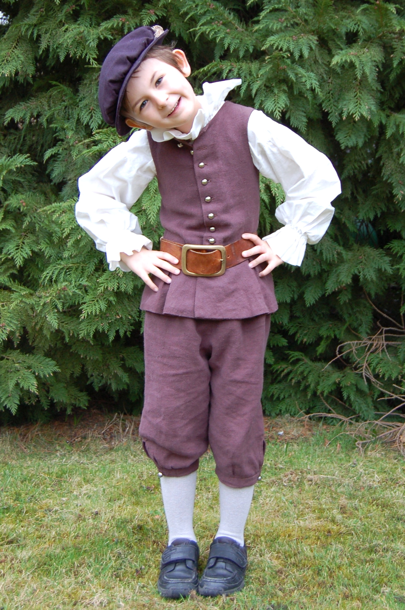 Tudor Boy Revisitedu2026(and other costumes) u2013 The Linen Cat Blog